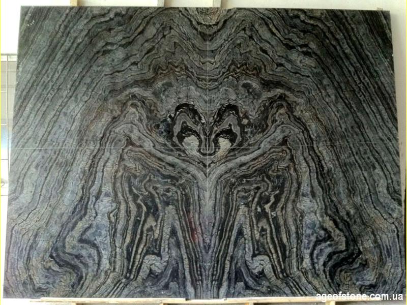 Мрамор с древовидной текстурой