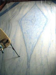 Макаубас голубой кварцит пол из голубого мрамора