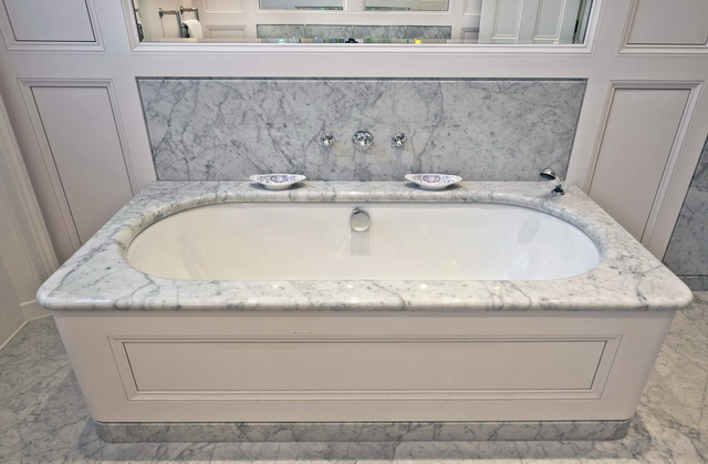 Фото - Мрамор Carara (Карара) ванная